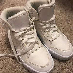 Adidas zapatos blanco Neo High Tops poshmark
